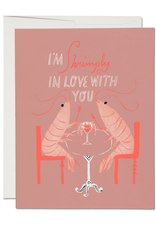 I'm Shrimply In Love With You Greeting Card