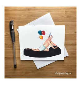 George Costanza Birthday (Seinfeld) Greeting Card