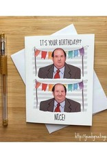 Kevin Malone Birthday (The Office) Greeting Card