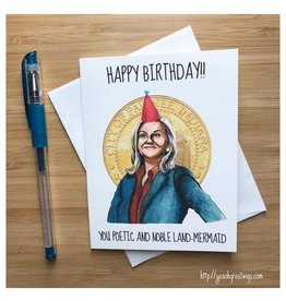 Leslie Knope Birthday (Parks and Rec) Greeting Card