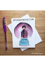 Prince 1999 Birthday Greeting Card