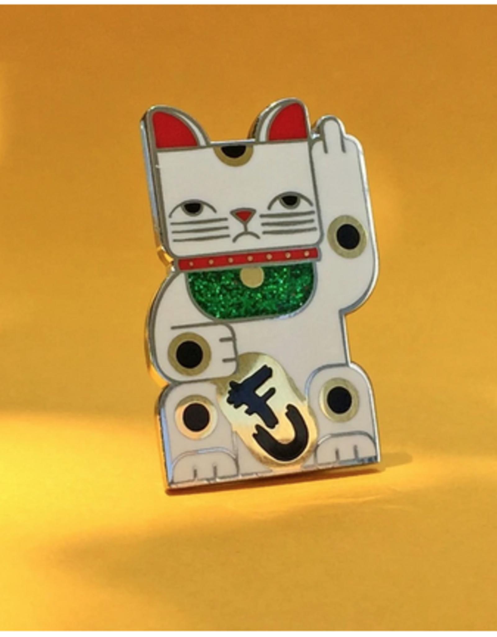 Goodbye Kitty Pin