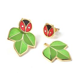 Coccinella Ladybug Jacket Earrings