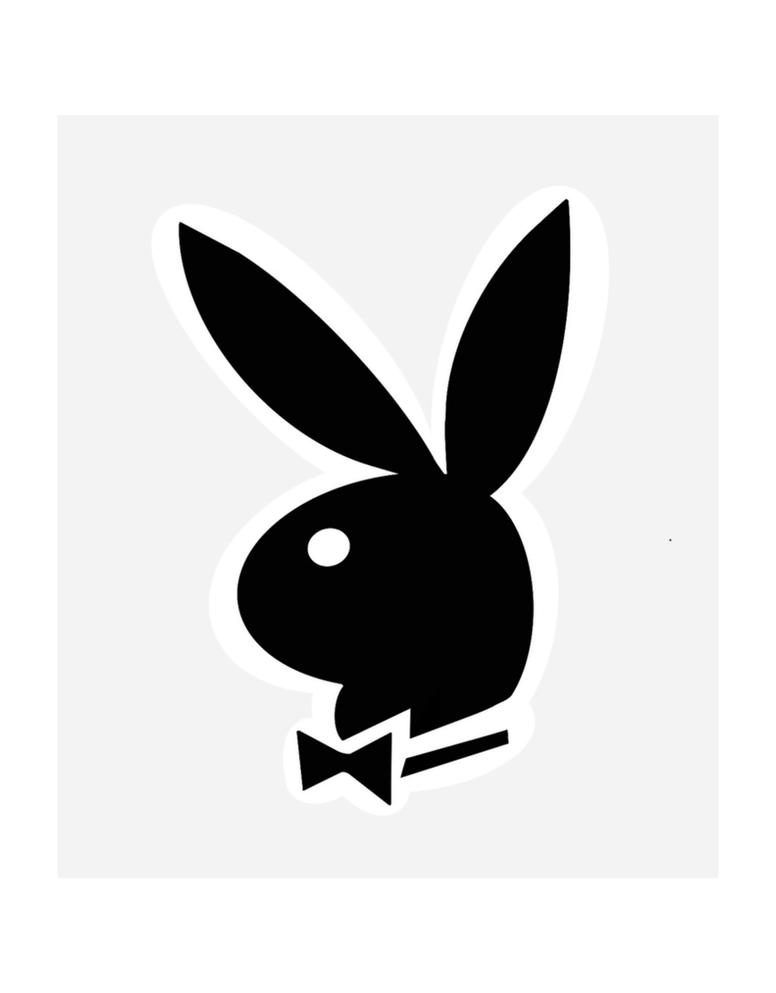 Playboy Bunny Sticker - Seconds Sale