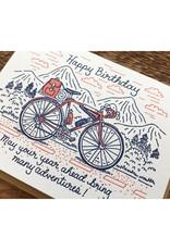 Happy Birthday Adventures Greeting Card