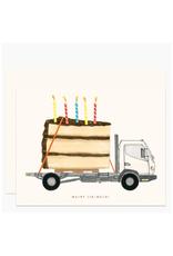 Big Happy Birthday Greeting Card