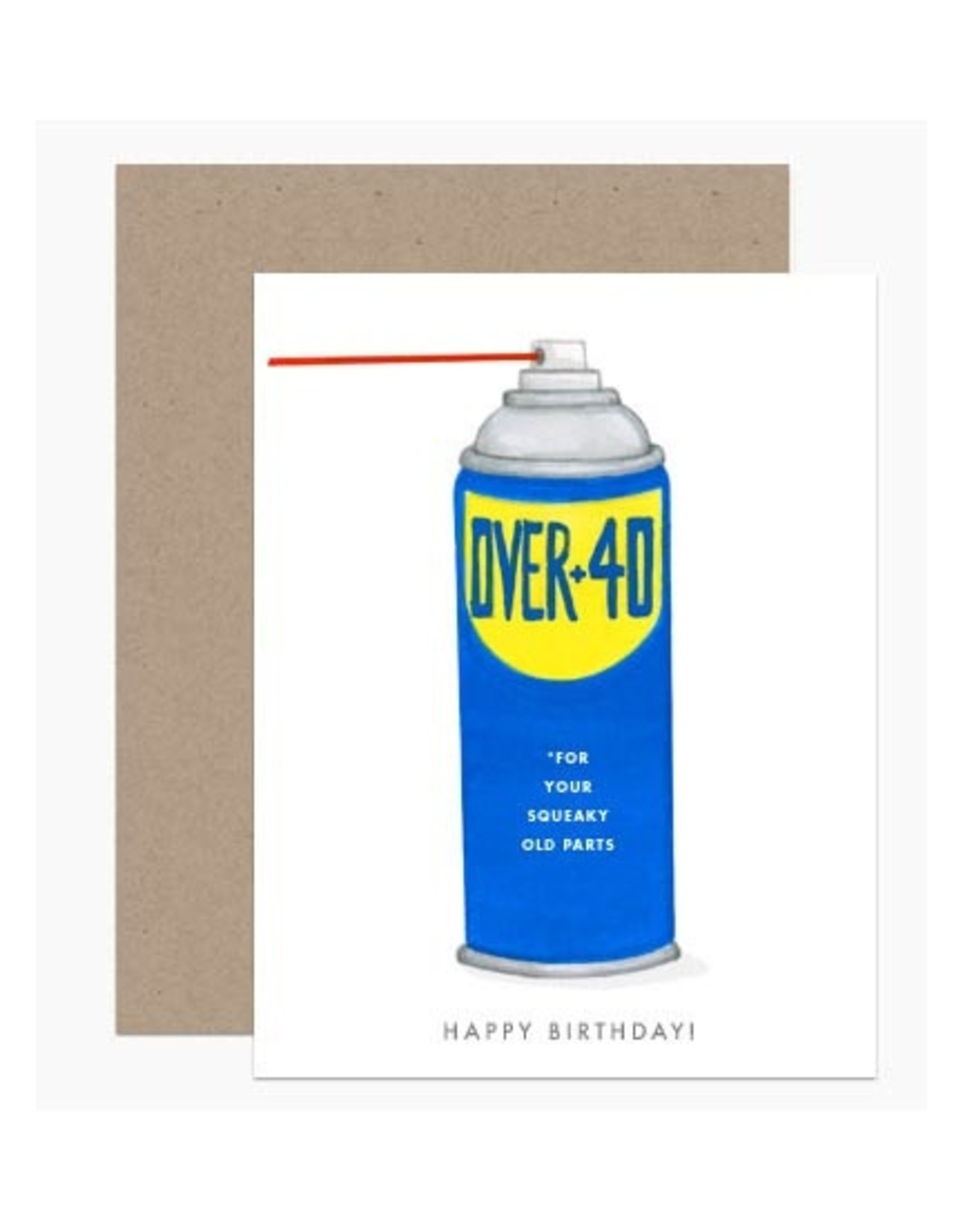 Happy Birthday Over 40 Greeting Card