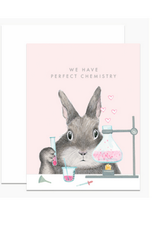 We Have Perfect Chemistry Greeting Card