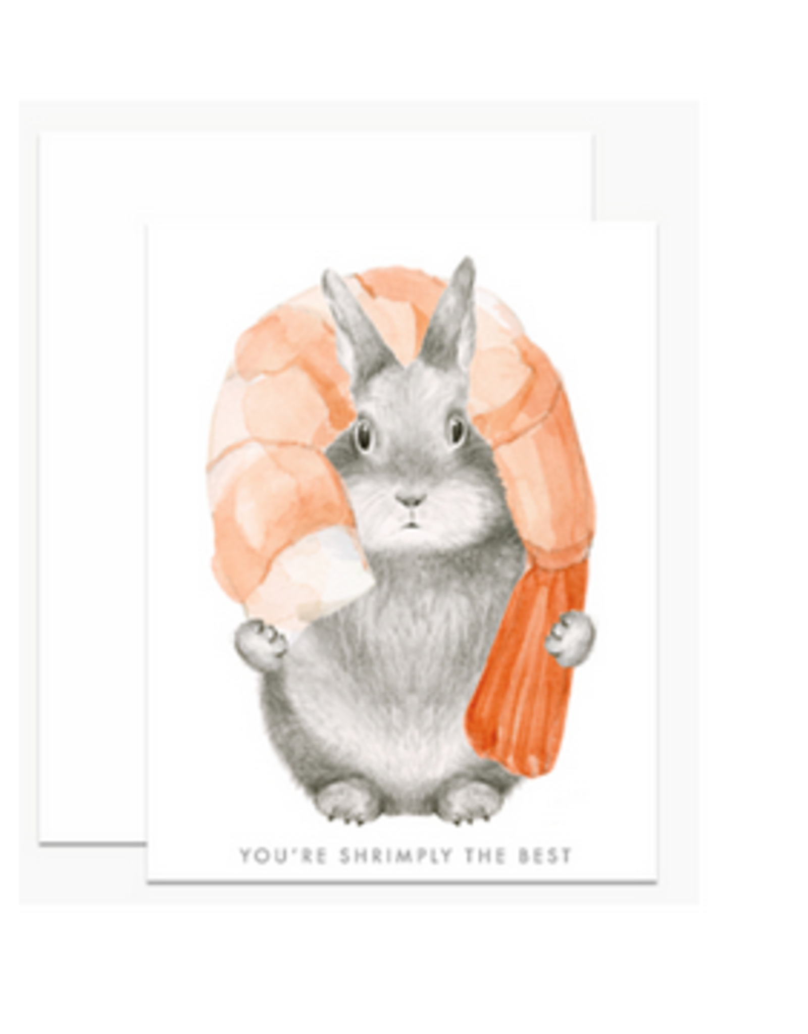 You're Shrimply the Best Greeting Card