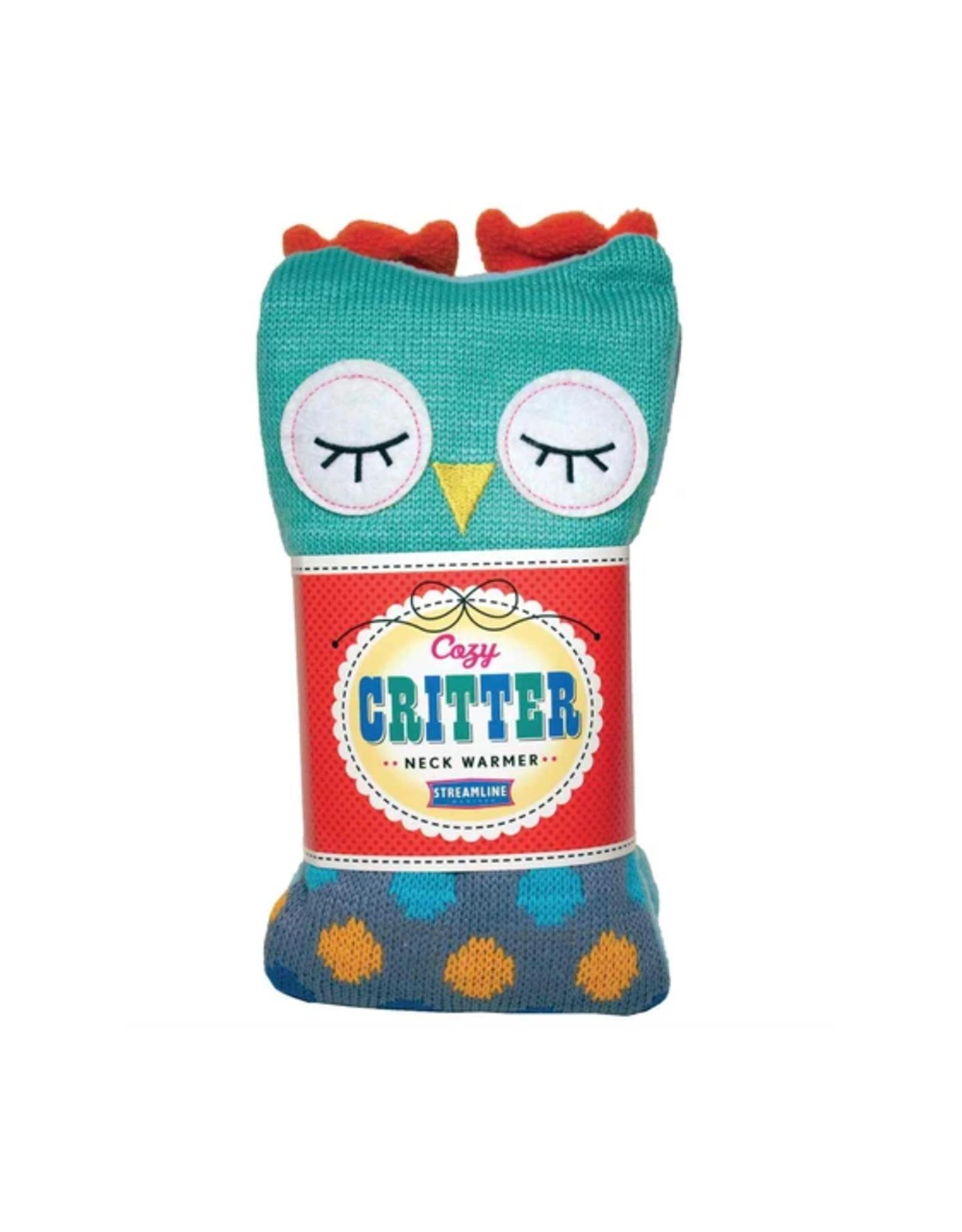 Owl Cozy Critter Herbal Neck Warmer