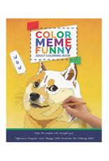 Color Meme Funny Coloring Book
