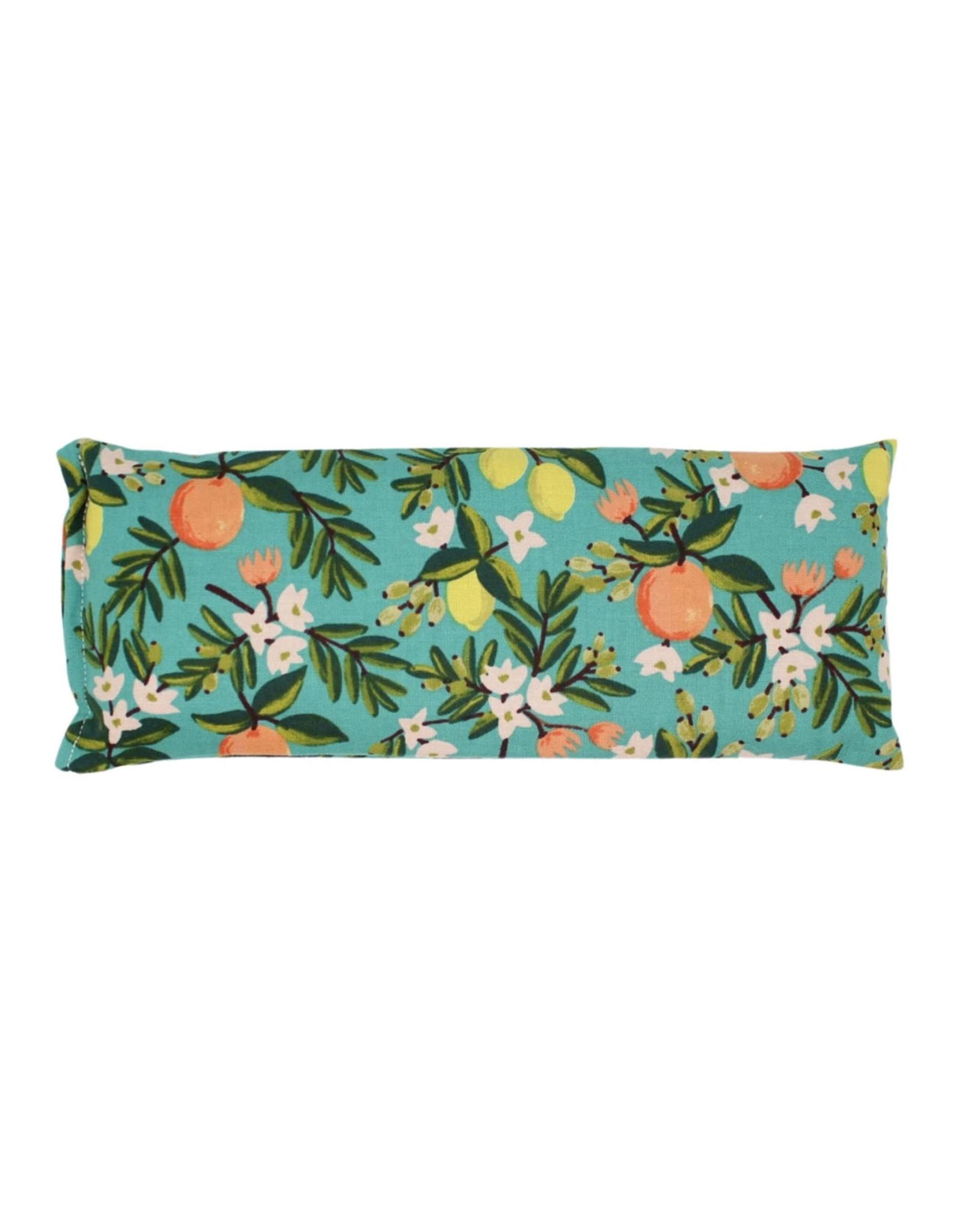 Lavender Eye Pillow :  Teal Citrus