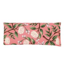 Lavender Eye Pillow :  Coral Peony