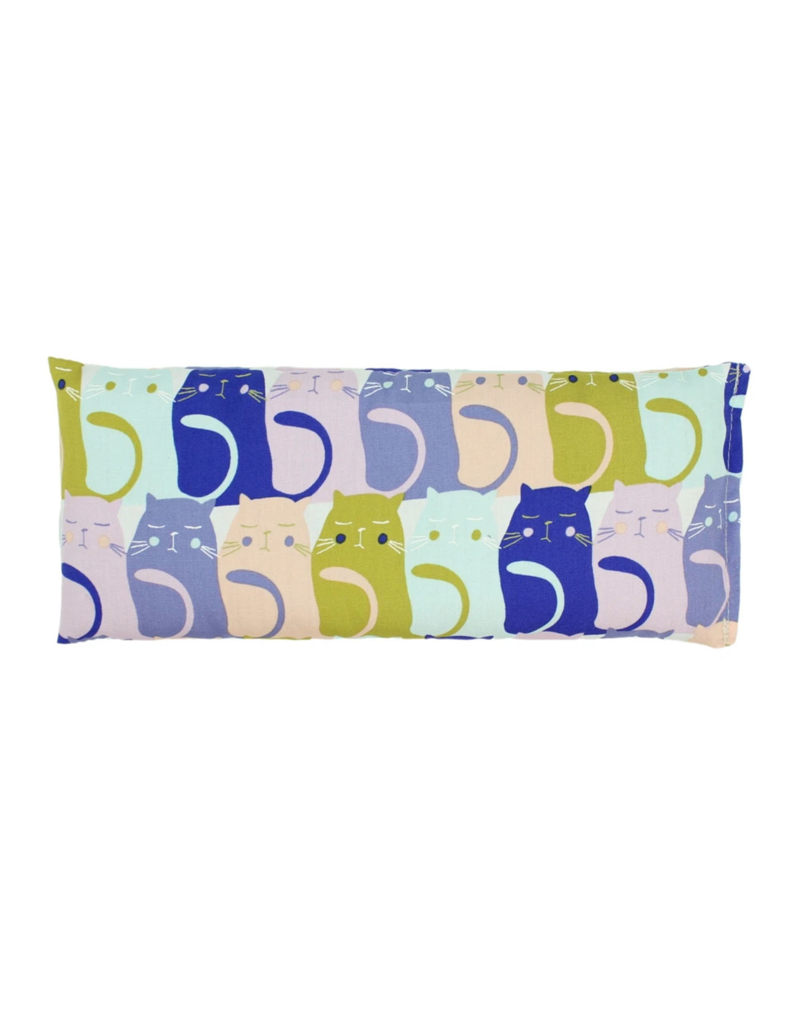 Lavender Eye Pillow :  Colorful Cats