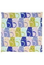 Colorful Cats Lavender Heat Wrap