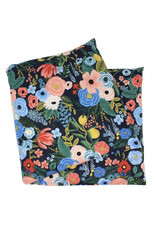 Navy Peach Floral Lavender He at Wrap