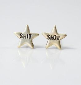 Shit Show Star Stud Earrings