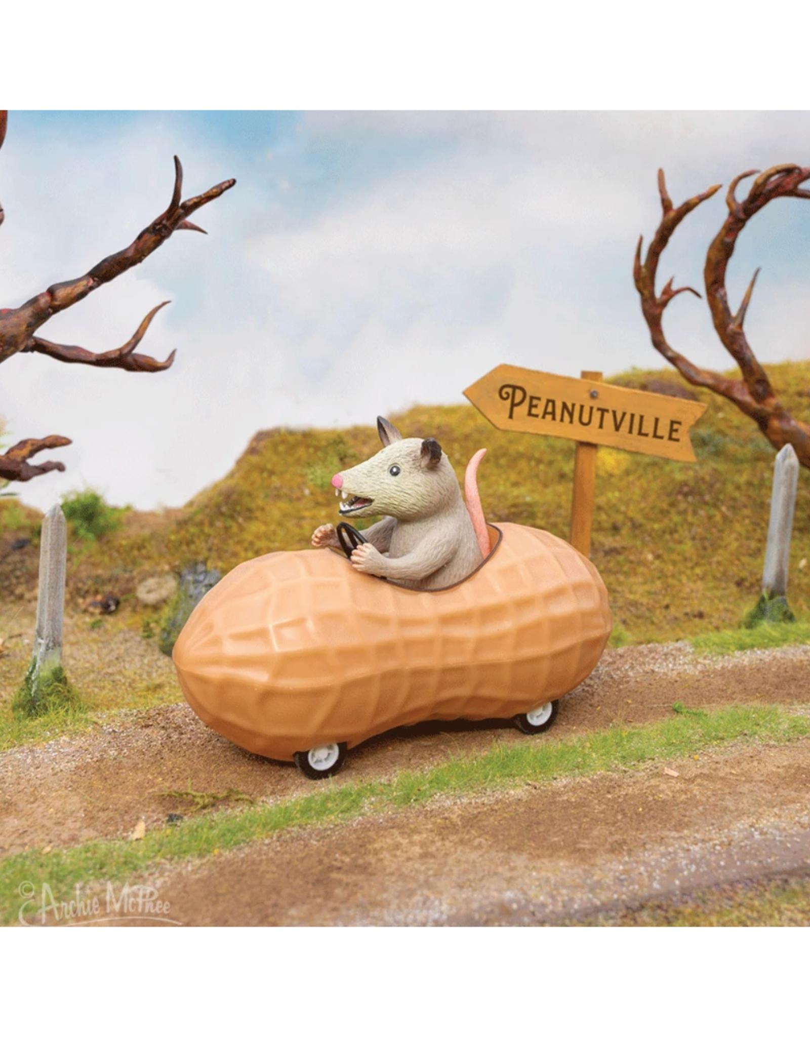 Racing Possum in a Peanut