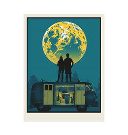 Moon Van Print