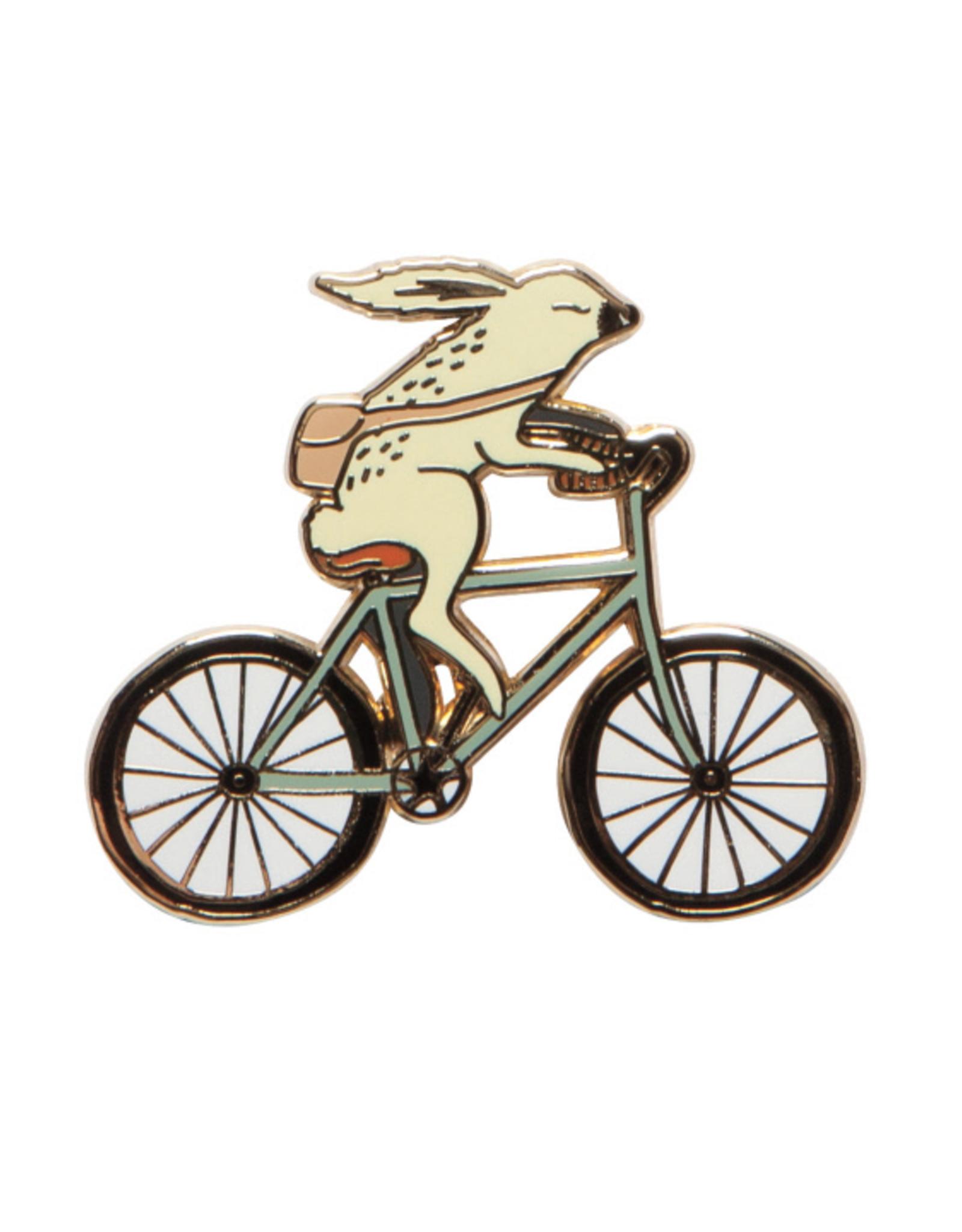 Wild Riders Rabbit Bike Pin