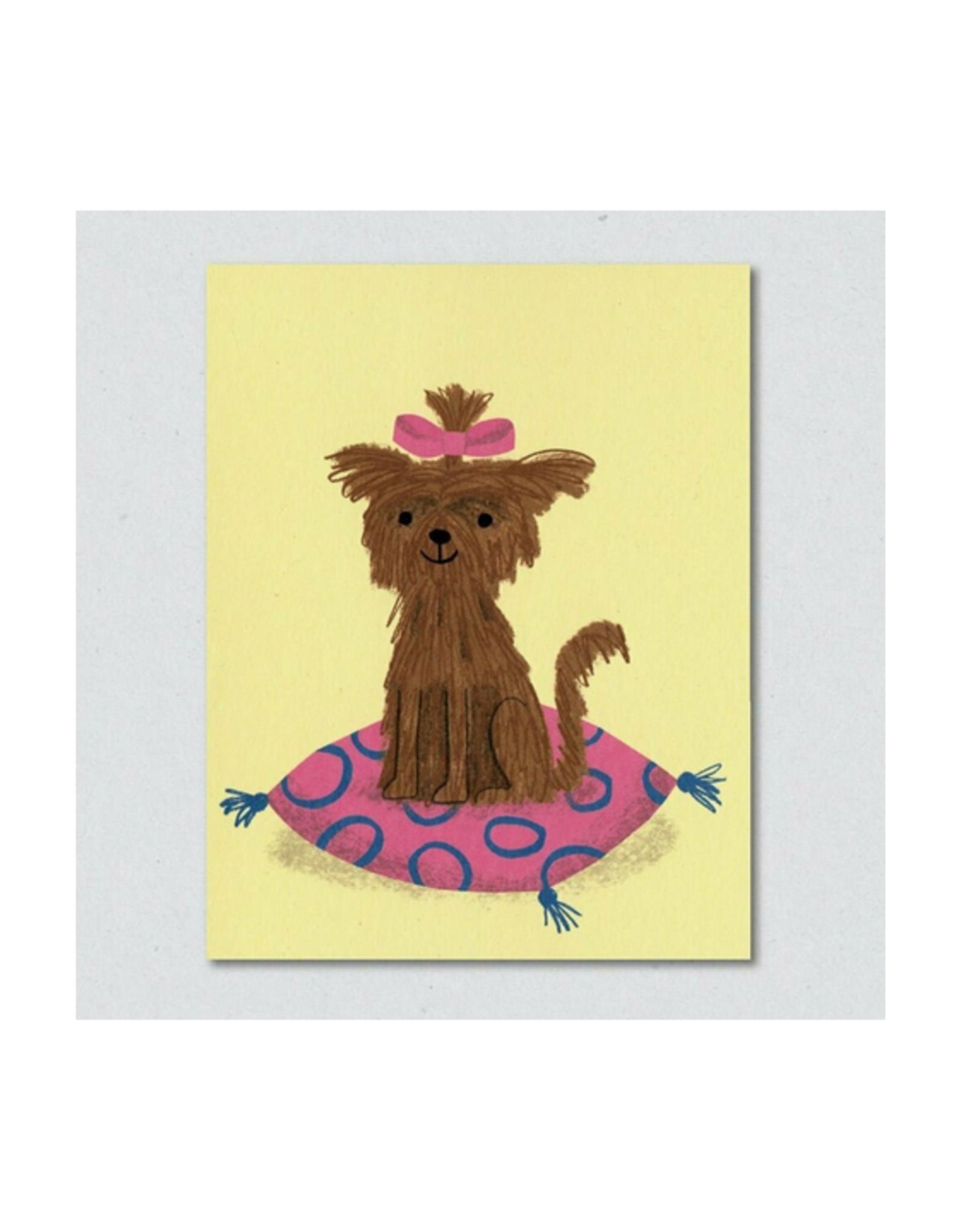 Gloria the Dog Greeting Card