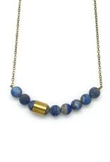 Movement & Sound Necklace - Lapis Lazuli