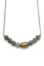 Movement & Sound Necklace - Turquoise