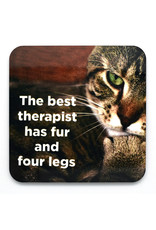 Best Therapist has Fur and Four Legs Coaster