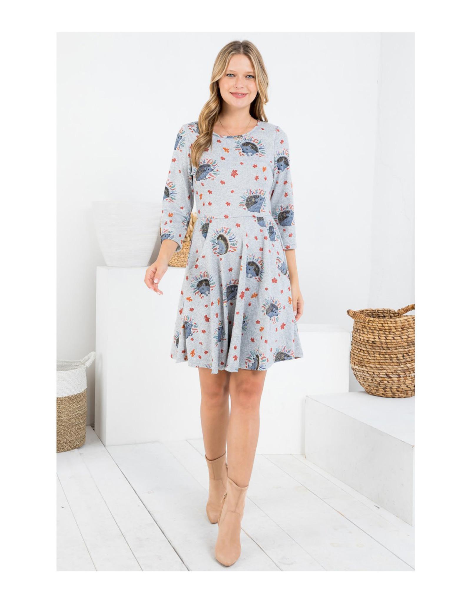 Porcupine Tunic Dress