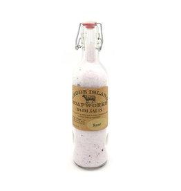 Bottled Bath Salts - Rose