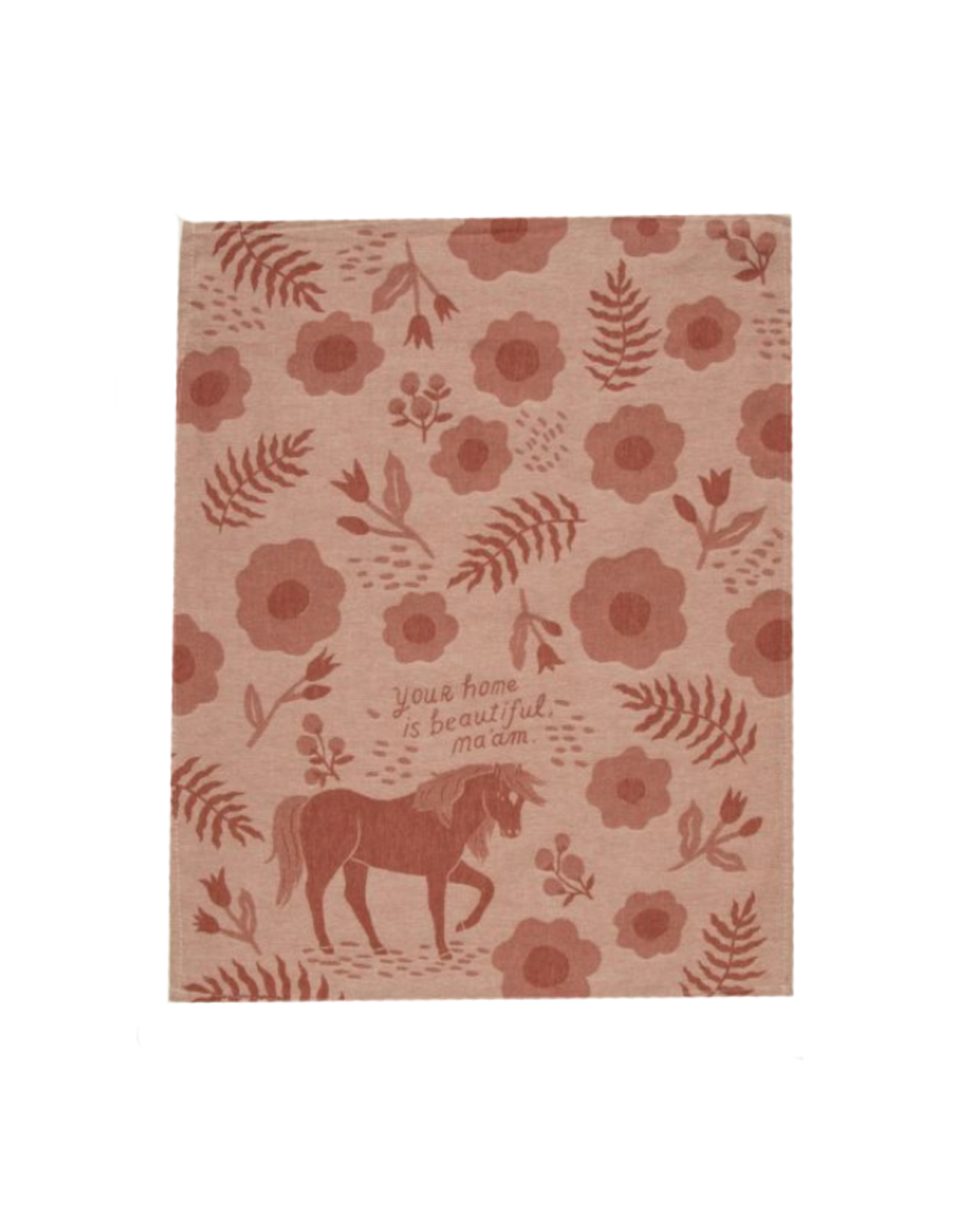 Beautiful Home Horse Dish Towel