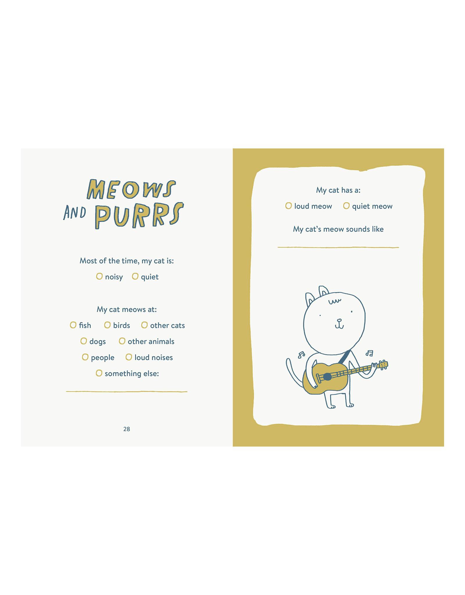 My Cat Book Keepsake Journal