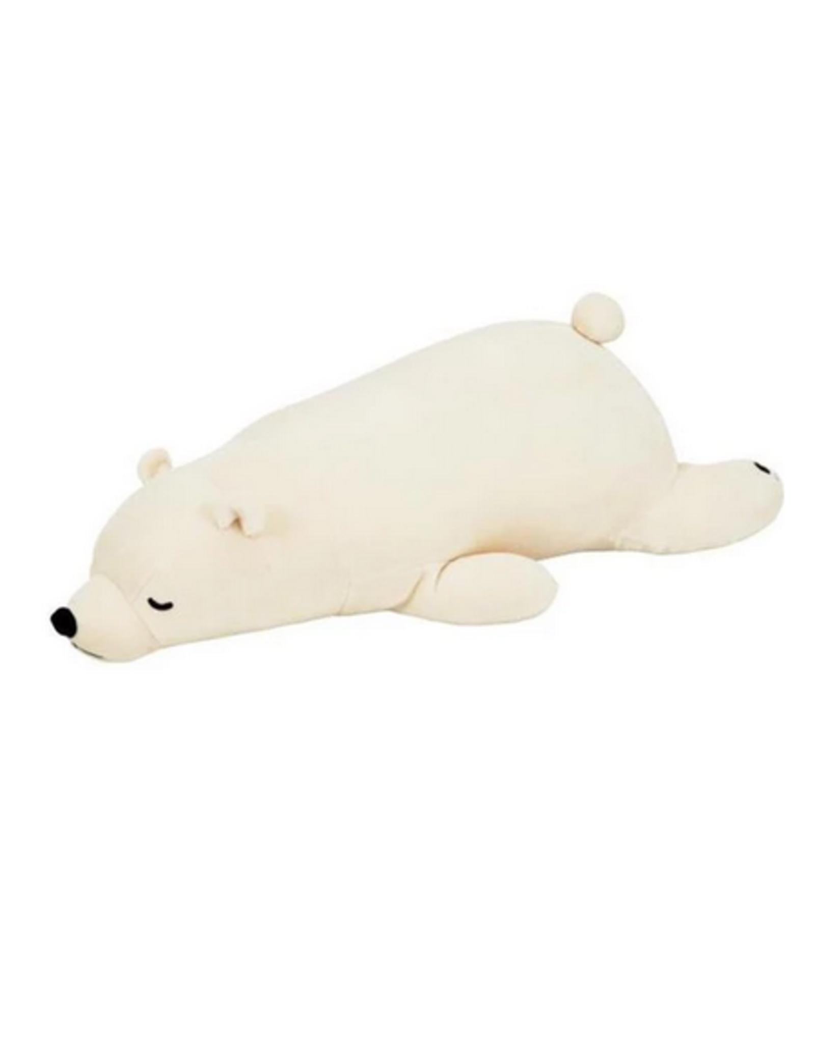 Lucky Polar Bear Body Pillow