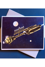 The Menorah Ship Greeting Card