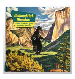 National Parks Monsters 2022 Wall Calendar
