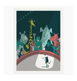 Circus Menagerie Print