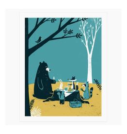 Picnic Friends Print
