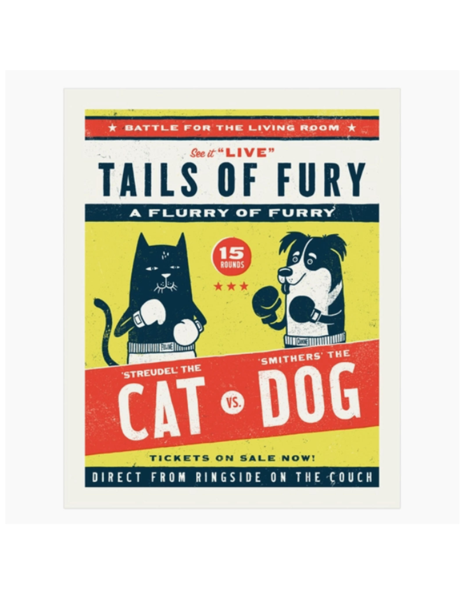 Tails of Fury Print