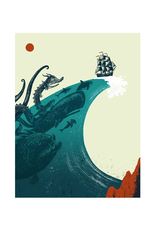 Chasing the Wave Print
