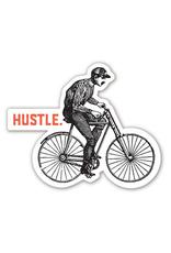 Hustle Bike Sticker