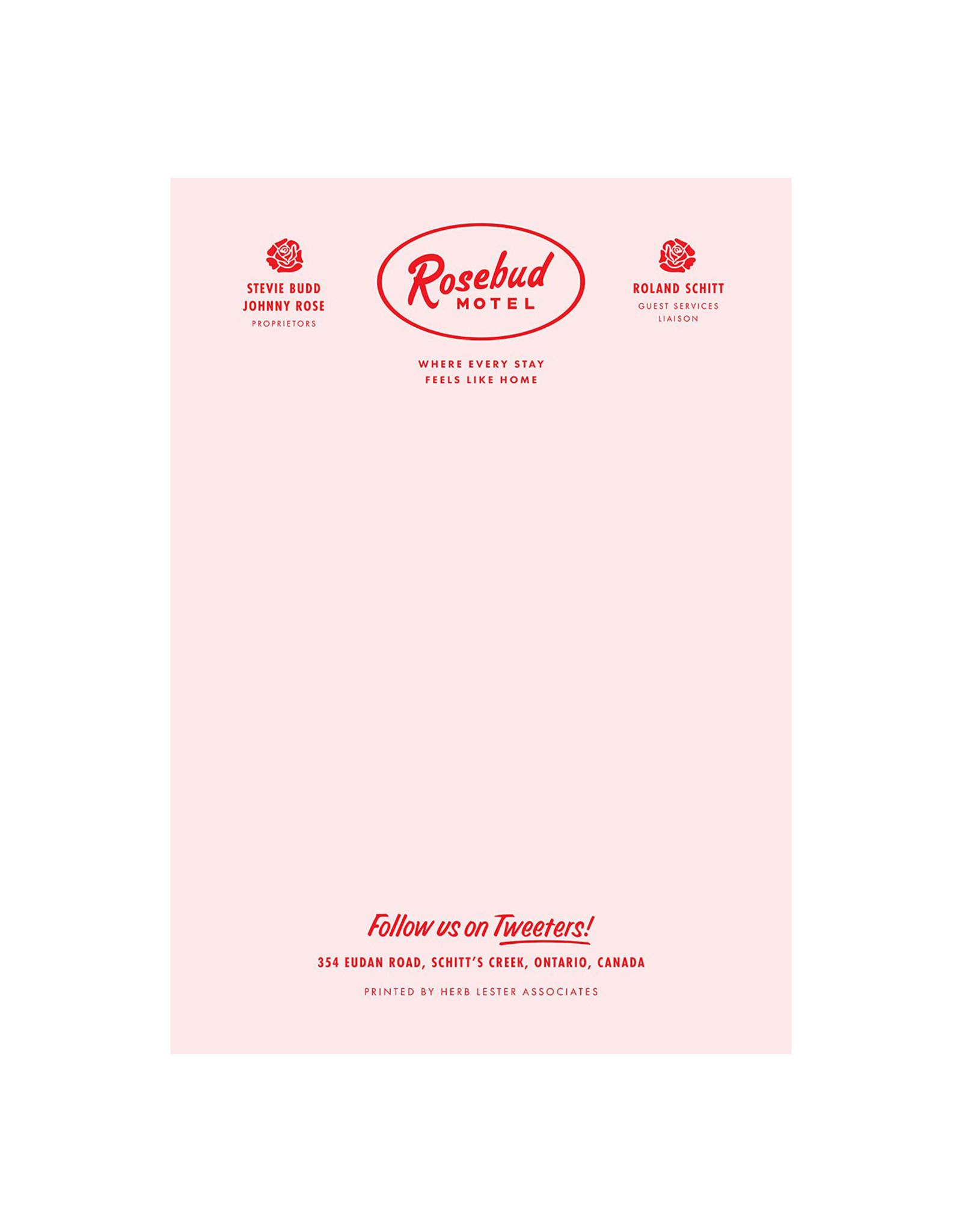 Rosebud Motel Notepad