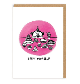 Treat Yourself Greeting Card