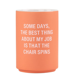 The Chair Spins Pencil Cup