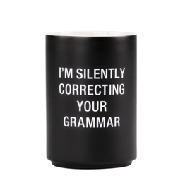 Silently Correcting Your Grammar Pencil Cup