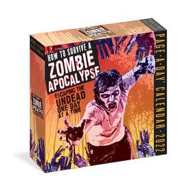 How to Survive a Zombie Apocalypse 2022 Pad Calendar