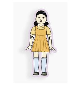 Squid Game Doll Sticker