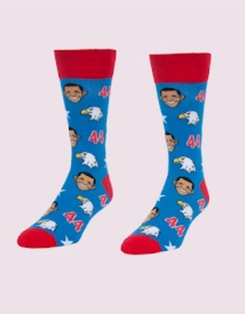 Headline Obamas & Eagles Men's Socks