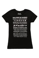 Headline Sorry About Our President T-Shirt