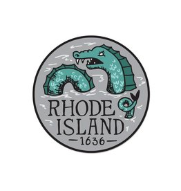 Frog & Toad Press Rhode Island Serpent Sticker
