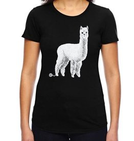 Counter Couture Alpaca T-Shirt (Black)